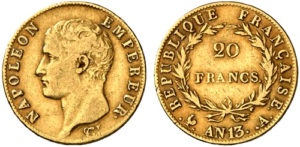 拿破仑一世金币